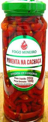 Pimenta na Cachaça - Conserva 350g