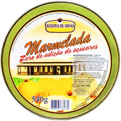 Marmelada Cremosa 0% Açúcar Lata 500g