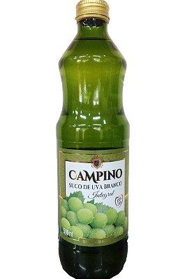 Suco de Uva Branco Campino 500ml - Integral e 0% açúcar