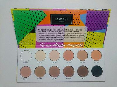 Paleta de sombra Matte de Amor Jasmyne Facebeauty B