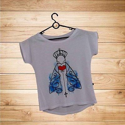 T-Shirt - Regatão - Vestido, Adulto ou Infantil - Tal Mãe Tal Filha Cód. 4396