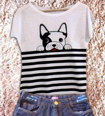 T-Shirt - Regatão - Vestido, Adulto ou Infantil - Tal Mãe Tal Filha Cód. 2835