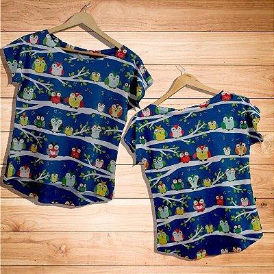 T-Shirt - Regatão - Vestido, Adulto ou Infantil - Tal Mãe Tal Filha Cód. 3150