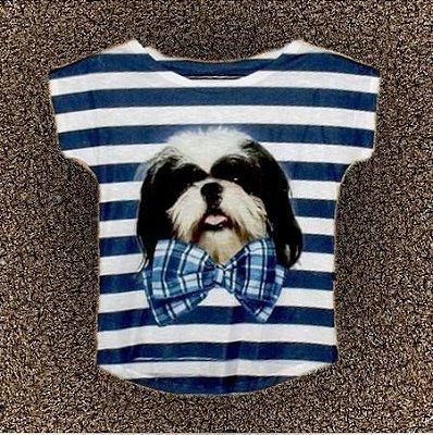 T-Shirt - Regatão - Vestido, Adulto ou Infantil - Tal Mãe Tal Filha Cód. 3752