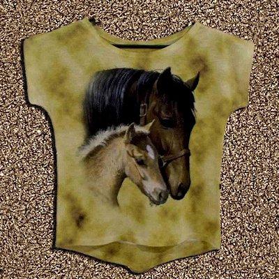 T-Shirt - Regatão - Vestido, Adulto ou Infantil - Tal Mãe Tal Filha Cód. 4222