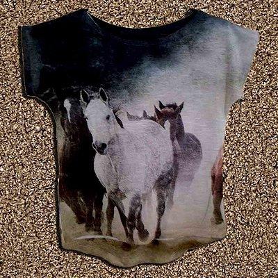 T-Shirt - Regatão - Vestido, Adulto ou Infantil - Tal Mãe Tal Filha Cód. 4248
