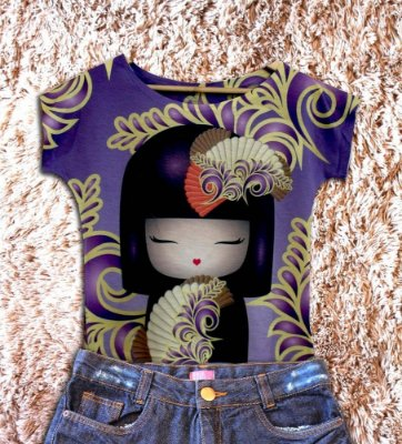 T-Shirt - Regatão - Vestido, Adulto ou Infantil - Tal Mãe Tal Filha Cód. 3230