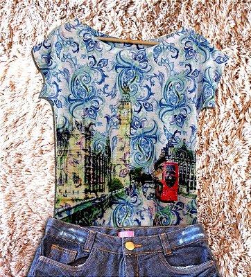 T-Shirt - Regatão - Vestido, Adulto ou Infantil - Tal Mãe Tal Filha Cód. 2874
