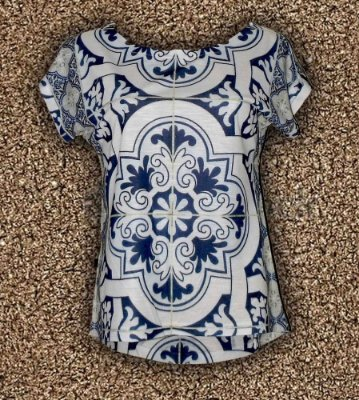 T-Shirt - Regatão - Vestido, Adulto ou Infantil - Tal Mãe Tal Filha Cód. 3682