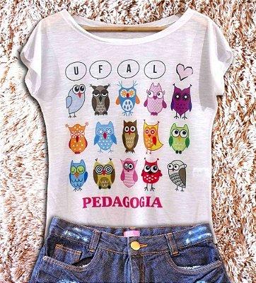 T-Shirt - Regatão - Vestido, Adulto ou Infantil - Tal Mãe Tal Filha Cód. PEDAGOGIA