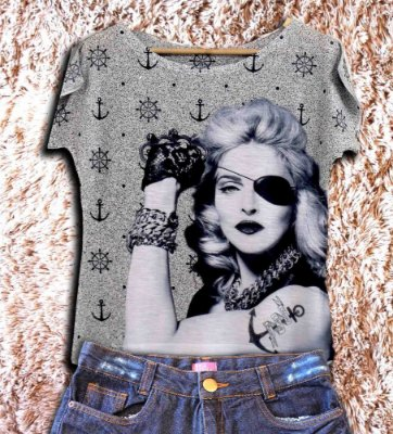 T-Shirt - Regatão - Vestido, Adulto ou Infantil - Tal Mãe Tal Filha Cód. 2840