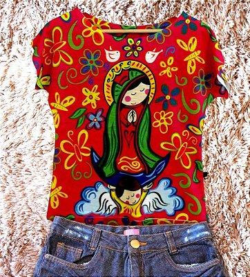 T-Shirt - Regatão - Vestido, Adulto ou Infantil - Tal Mãe Tal Filha ( COR PINK ) Cód. 2784
