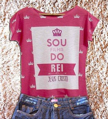 T-Shirt - Regatão - Vestido, Adulto ou Infantil - Tal Mãe Tal Filha Cód. 2848
