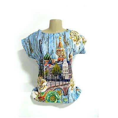 T-Shirt - Regatão - Vestido, Adulto ou Infantil - Tal Mãe Tal Filha Cód. 4888