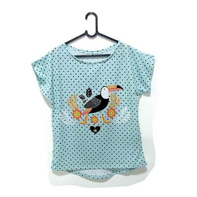 T-Shirt - Regatão - Vestido, Adulto ou Infantil - Tal Mãe Tal Filha Cód. 4930