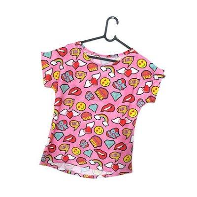 T-Shirt - Regatão - Vestido, Adulto ou Infantil - Tal Mãe Tal Filha Cód. 5129