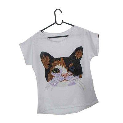 T-Shirt - Regatão - Vestido, Adulto ou Infantil - Tal Mãe Tal Filha Cód. 5134