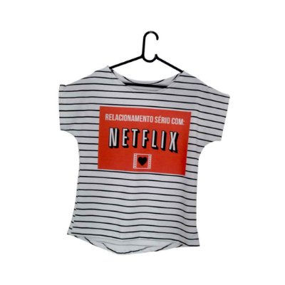 T-Shirt - Regatão - Vestido, Adulto ou Infantil - Tal Mãe Tal Filha Cód. 5107