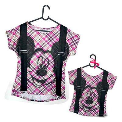 T-Shirt - Regatão - Vestido, Adulto ou Infantil - Tal Mãe Tal Filha Cód. 5125