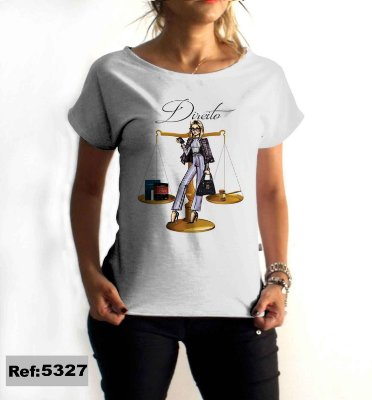 T-Shirt - Regatão - Vestido, Adulto ou Infantil - Tal Mãe Tal Filha Cód. 5327 Direito