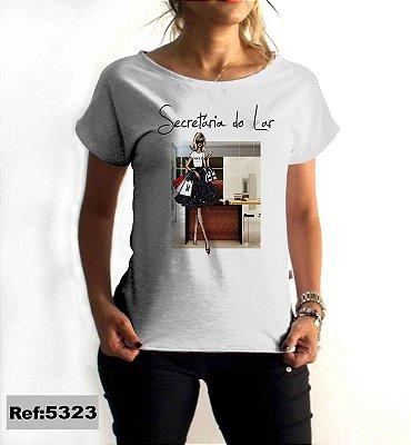 T-Shirt - Regatão - Vestido, Adulto ou Infantil - Tal Mãe Tal Filha Cód. 5323 Secretária do Lar