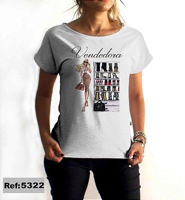 T-Shirt - Regatão - Vestido, Adulto ou Infantil - Tal Mãe Tal Filha Cód. 5322 Vendedora