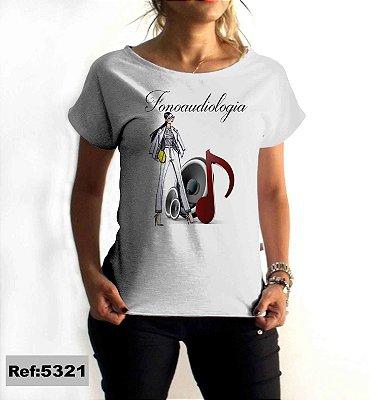 T-Shirt - Regatão - Vestido, Adulto ou Infantil - Tal Mãe Tal Filha Cód. 5321 Fonoaudiologia
