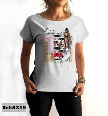 T-Shirt - Regatão - Vestido, Adulto ou Infantil - Tal Mãe Tal Filha Cód. 5319 Cabeleireira