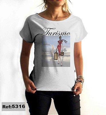T-Shirt - Regatão - Vestido, Adulto ou Infantil - Tal Mãe Tal Filha Cód. 5316 Turismo