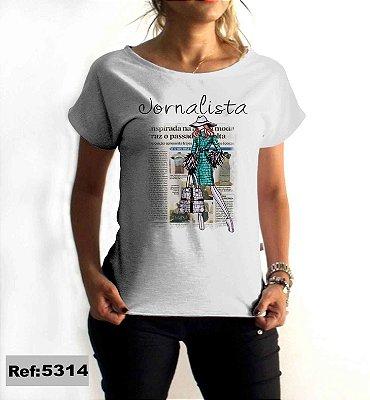 T-Shirt - Regatão - Vestido, Adulto ou Infantil - Tal Mãe Tal Filha Cód. 5314 Jornalismo