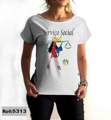 T-Shirt - Regatão - Vestido, Adulto ou Infantil - Tal Mãe Tal Filha Cód. 5313 Serviço Social