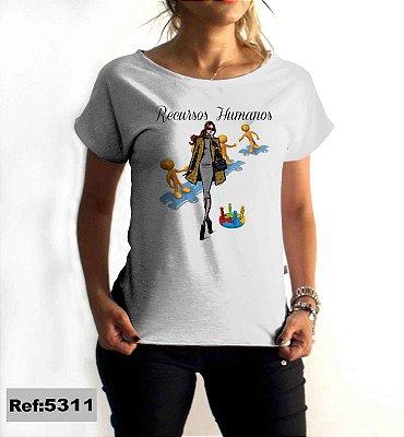 T-Shirt - Regatão - Vestido, Adulto ou Infantil - Tal Mãe Tal Filha Cód. 5311 Recursos Humanos
