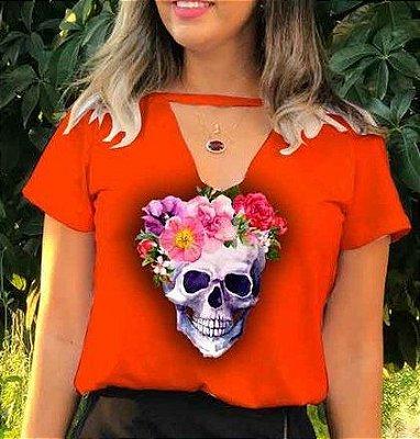 T-Shirt - Regatão - Gola V - Vestido, Adulto ou Infantil - Tal Mãe Tal Filha Cód.5965