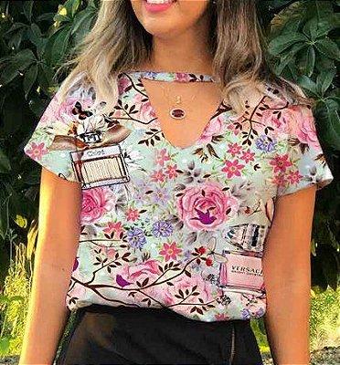 T-Shirt - Regatão - Gola V - Vestido, Adulto ou Infantil - Tal Mãe Tal Filha Cód.5962