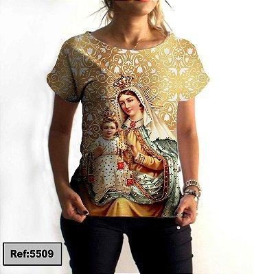 T-Shirt - Regatão - Vestido, Adulto ou Infantil - Tal Mãe Tal Filha Cód.5509