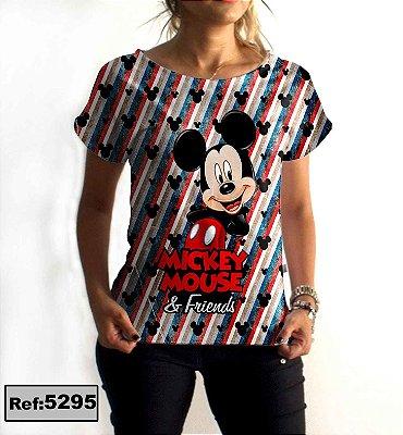 T-Shirt - Gola V - Regatão - Vestido, Adulto ou Infantil - Tal Mãe Tal Filha Cód.5295