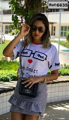 T-Shirt - Vestido, Adulto - Infantil, Masculino - Feminino - Tal Mãe Tal Filha (o) Cód.6635