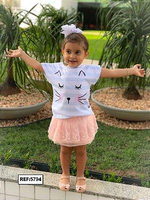 T-Shirt - Vestido, Adulto - Infantil, Masculino - Feminino - Tal Mãe Tal Filha (o) Cód.5794