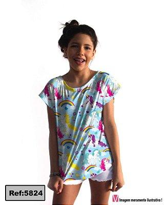 T-Shirt - Vestido, Adulto - Infantil, Masculino - Feminino - Tal Mãe Tal Filha (o) Cód.5824