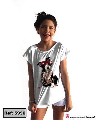 T-Shirt - Vestido, Adulto - Infantil, Masculino - Feminino - Tal Mãe Tal Filha (o) Cód.5996