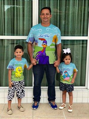 T-Shirt - Vestido, Adulto - Infantil, Masculino - Feminino - Tal Mãe Tal Filha (o) Cód.5854-2 / 5854-3 / 5854-1