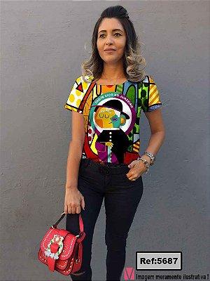 T-Shirt - Vestido, Adulto - Infantil, Masculino - Feminino - Tal Mãe Tal Filha (o) Cód.5687