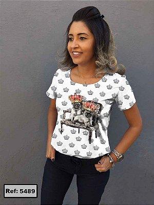T-Shirt - Vestido, Adulto - Infantil, Masculino - Feminino - Tal Mãe Tal Filha (o) Cód.5489