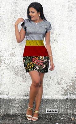 T-Shirt - Vestido, Adulto - Infantil, Masculino - Feminino - Tal Mãe Tal Filha (o) Cód.5434