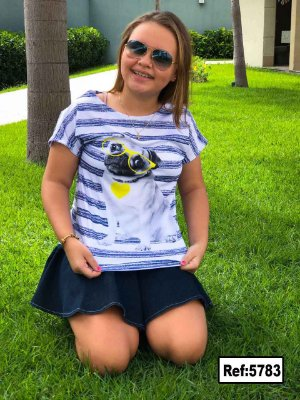 T-Shirt - Vestido, Adulto - Infantil, Masculino - Feminino - Tal Mãe Tal Filha (o) Cód.5783