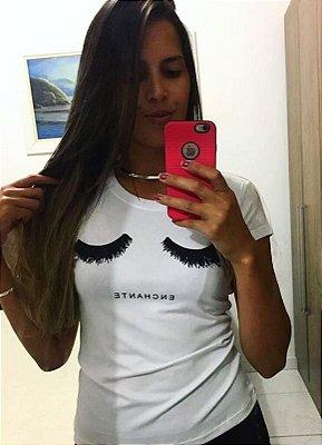 T-Shirt Atacado ENCHANTE - Adulto, Infantil ou Kit Mãe e Filha