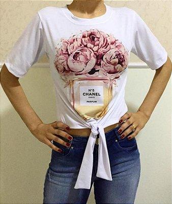 T-Shirt Atacado CHANEL - Adulto, Infantil ou Kit Mãe e Filha