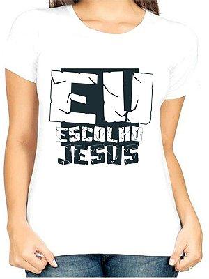 T-Shirt Atacado EU ESCOLHO JESUS - Adulta - Várias cores de tecido