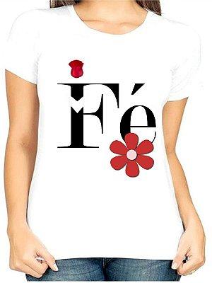 T-Shirt Atacado FÉ 4 - Adulta - Várias cores de tecido