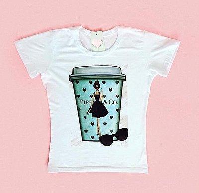 T-Shirt Atacado TIFFANY & CO CUP - Adulto - Várias cores de tecido